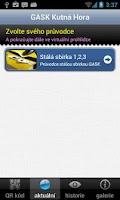 Screenshot of GASK Mobile Guide