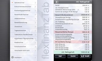 Screenshot of flexfinanz12Tab