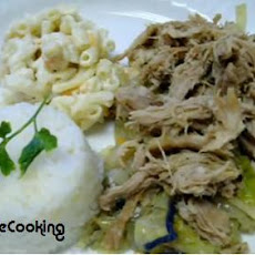 Solar Cooked Hawaiian Kalua Pork
