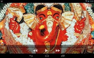 Screenshot of Shree Siddhivinayak Live