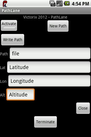 GPS PathLane Track