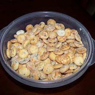 Seasoned Oyster Crackers Low Calorie Recipes