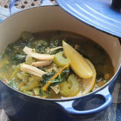Make-Ahead Detox Turkey Soup