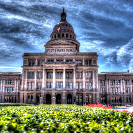 Texas State Capitol Building by Marc Mulkey - Buildings & Architecture Office Buildings & Hotels ( austin, red, texas, state, capitol, granite )