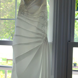 Perfect Dress by Barbara Bradshaw - Wedding Details ( wedding photography, bridal, wedding dress, wedding details )