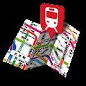 鉄道マップ 関東/JR(1) icon