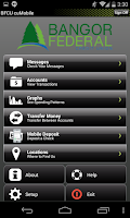 Screenshot of Bangor Federal cuMobile