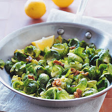 Brussels Sprouts with Toasted Walnuts