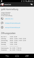 Screenshot of MeinClub