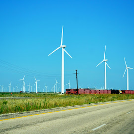 Wind Farm by Carrie Cooper - Buildings & Architecture Other Exteriors ( farm, wind, energy )