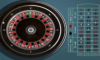 Screenshot of European Roulette Gold