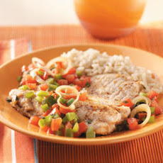 Mediterranean Fish Skillet Recipe