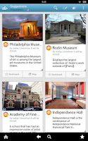 Screenshot of Philadelphia Travel Guide