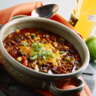 Chunky Turkey Chili (or Beef)