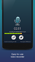 Screenshot of Hi-Q MP3 Voice Recorder (Full)