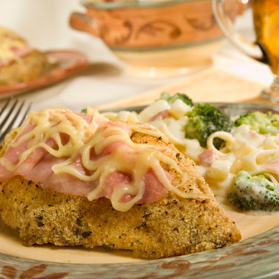 Crunchy Chicken Cordon Bleu