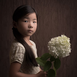 Hydrangea by Milou Krietemeijer-Dirks - Babies & Children Child Portraits
