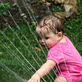 first sprinkle by Scott Bennett - Babies & Children Toddlers