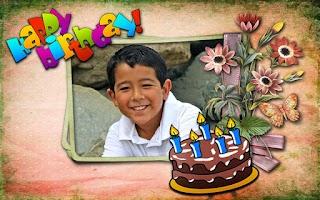 Screenshot of Birthday Frames Free