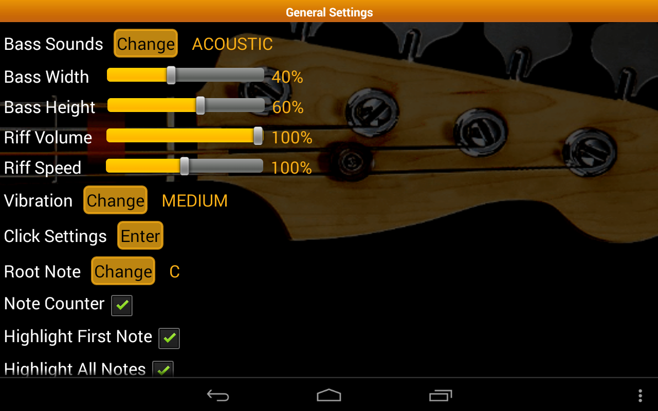 Bass Guitar Tutor Pro Screenshot 13