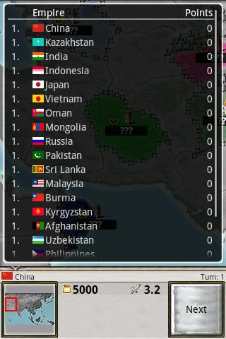 Age of Conquest: Asia - screenshot