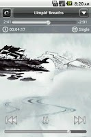 Screenshot of Calming Music to Simplicity