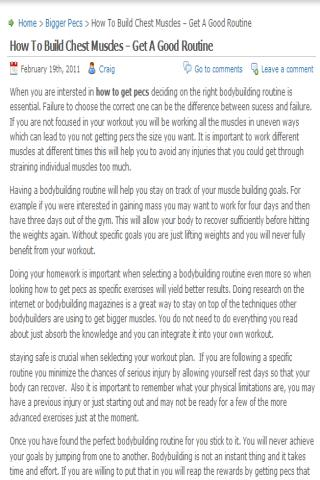 【免費健康App】Bodybuilding Tips And Advice-APP點子