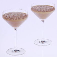 White Chocolate Espresso-Vodka Martinis
