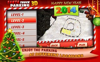 Screenshot of Santa Truck Parking 3D ★ 2014