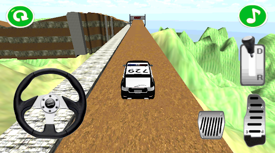 Police Off Road 4x4 - screenshot