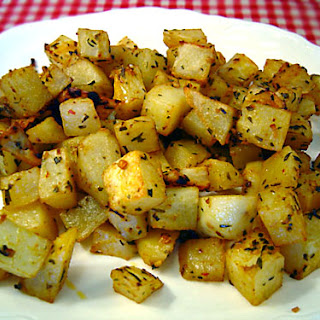 Spicy Roasted Potatoes recipe – 177 calories