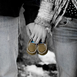 Baby Shoes by Jane Moore - People Maternity ( baby bump, maternity photography, kankakee, photographer kankakee,  )