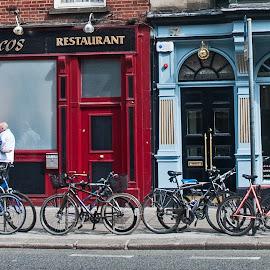 Parking Full by Robert Seals - Transportation Bicycles ( ireland, photograph, dublin, tourism, irish, travel, transportation, people, photo, photography, bicycle, tourist, bike )