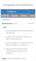 Screenshot of Dictionary.com Premium