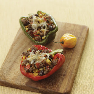 Sausage and Cheese Stuffed Peppers