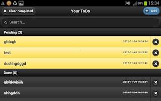 Screenshot of Easy GTD easiest Todo there is