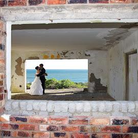 by Linda Jansen van Rensburg. - Wedding Bride & Groom
