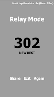 Screenshot of White Tile Cheat: Fake Score