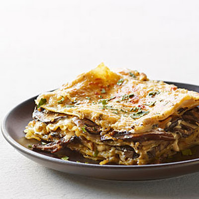 Mushroom and Fresh Herb Lasagna