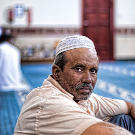 Religious Devotion by Danny Ugaddan - People Portraits of Men ( #islam #ramadan #masjid )