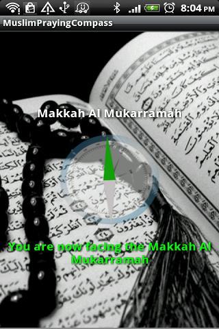 Muslims Praying Direction