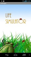 Screenshot of Life simulator