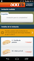 Screenshot of 100 Montaditos