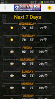 Screenshot of Weather: KPRC