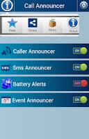 Screenshot of Caller Name Announcer Talker