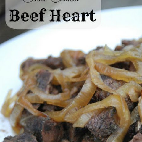 Slow Cooker Beef Heart