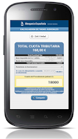 Screenshot of Calculadora Tasas Judiciales
