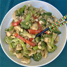 Kung Pao Chicken with Broccoli