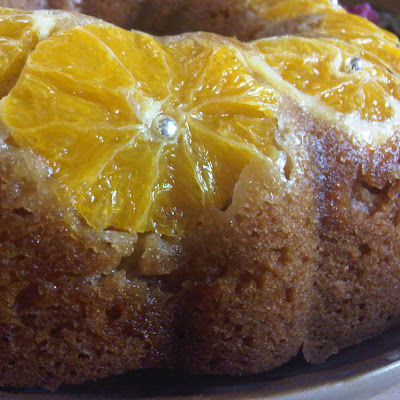Orange & Honey Madeira Cake
