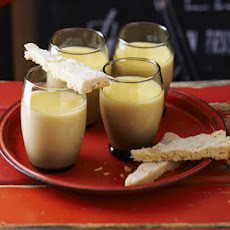 Lemon Posset With Sugared-almond Shortbread